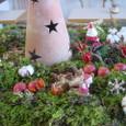 横浜山手の喫茶店「エレ-ナ」さんのクリスマス装飾 12月中旬