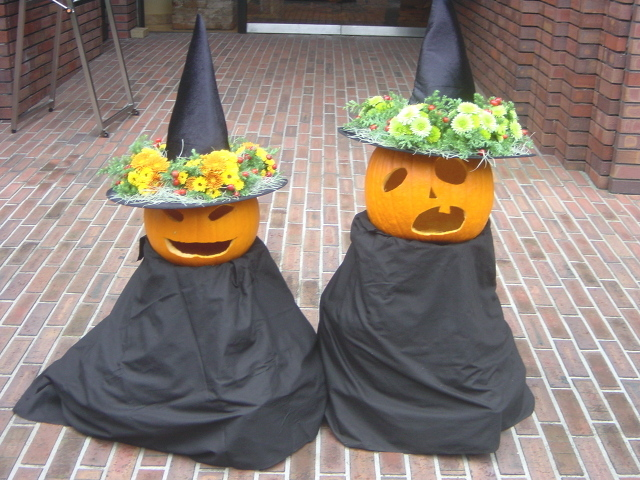 「西洋館ハロウィン装飾」岩崎ミュージアムにて 10月下旬(1)