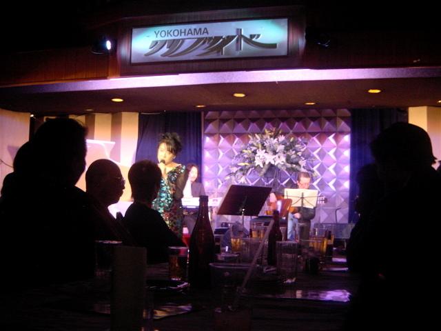 日野美歌さん「横浜フォール・イン・ラブ」リリース記念ライブ(横浜クリフサイドにて)12月下旬