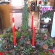 横浜山手の喫茶店「エレ-ナ」さんのクリスマス装飾 12月下旬
