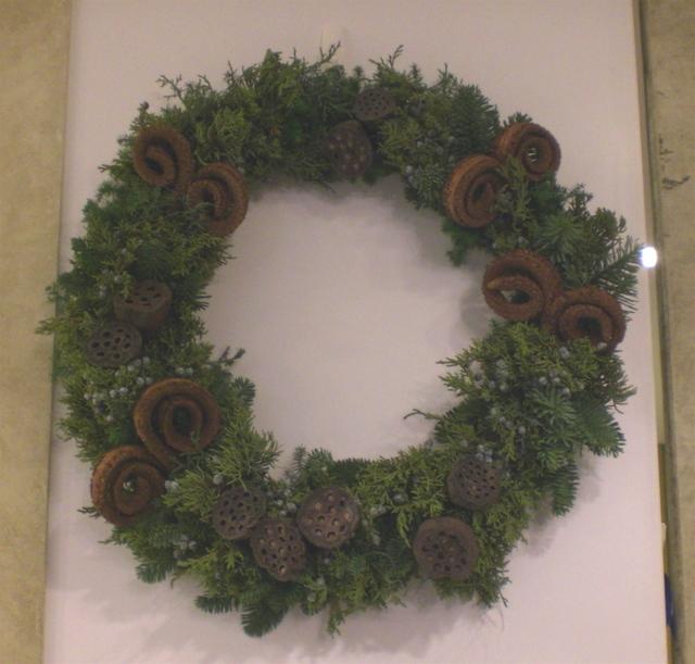 美容院のクリスマス装飾 その2 11月下旬