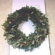 美容院のクリスマス装飾 その1 12月上旬