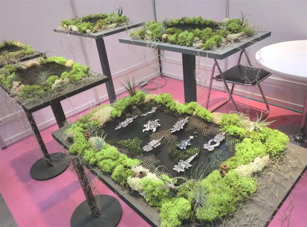 「ジャパンジュエリーフェア2011」 昇気さんのブース装飾 東京ビッグサイトにて 9月1〜3日