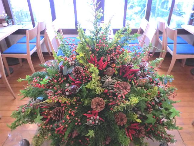 横浜山手の喫茶店「エレ-ナ」さんのクリスマス装飾 12月上旬