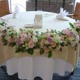 メインテーブル(ピンク~ムラサキ系) 7月