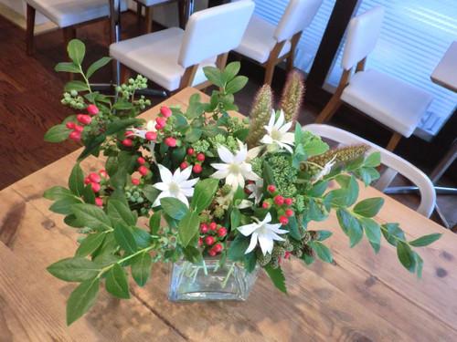 元町のカフェ「kaoris」さんの生け込み 6月中旬