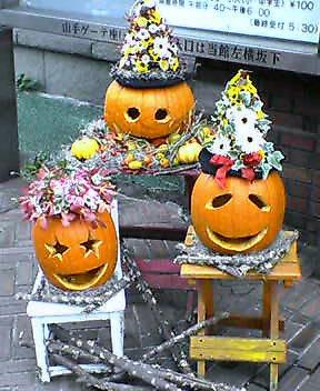 岩崎ミュージアム ハロウィンの装飾 その1 11月下旬