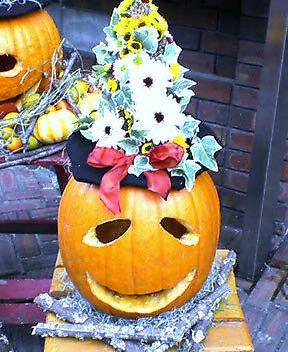 岩崎ミュージアム ハロウィンの装飾 その3 11月下旬